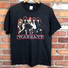 00143ece1d860c New ListingVintage 1980s Warrant T Shirt Concert Tour Band Metal USA Black  M Cherry Pie