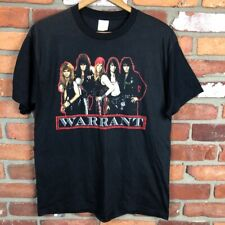dae89fbb53ee13 New ListingVintage 1980s Warrant T Shirt Concert Tour Band Metal USA Black  M Cherry Pie