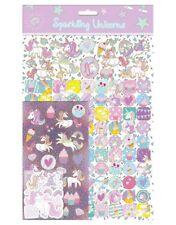 Sparkling Unicorns Mega Sticker Pack Over 150 Stickers