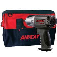 "AIRCAT 1355-XL NitroCat 3/8"" Impact Wrench Twin Hammer w/Tool Tote Bag"