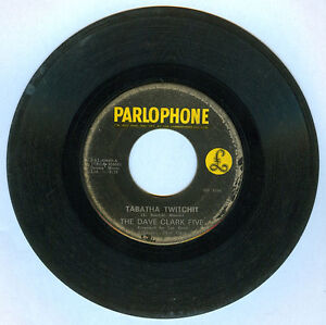 Philippines THE DAVE CLARK FIVE Tabatha Twitchit 45 rpm Record