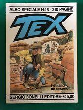 Tex Albo speciale n. 16 i predatori del deserto