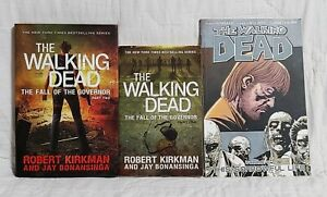 The Walking Dead: The Fall Of The Governor Part 1 & 2 By Robert Kirkman 1st Ed