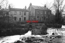 PHOTO  1986 HOUSES BY THE RIVER WHARFE LINTON THESE HOUSES WERE PROBABLY BUILT F