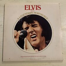 Elvis Presley A Legendary Performer Volume 1 LP RCA + Book VG+!!!!