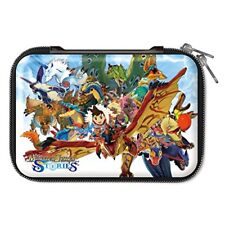 Monster Hunter Stories Case Pouch Japan for New Nintendo 3DS XL LL game import