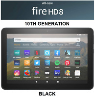 NEW Amazon Fire HD 8 Tablet 64 GB - 10th Generation 2020 Release - BLACK