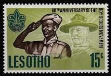 Lesotho postfris 1967 MNH 44 - Scouting 60 Jaar (k015)