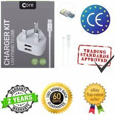 For APPLE iPhone 5/6/7 All iPad USB DATA/CHARGING CABLE FAST CHARGE FULL