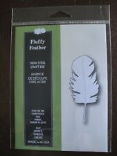 NEW Poppystamps Craft Die by Memory Box FLUFFY FEATHER Style No 978