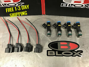 Blox Racing Eco-Fi Street Injectors 1000cc Set of 4 for Honda Acura K Series K20