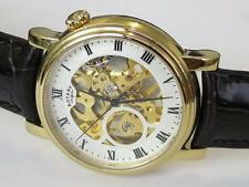 Rotary Luxury Polished Wristwatches with 12-Hour Dial