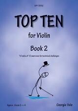 Top Ten Book 2 Georgia Vale  Spartan Press Violin Studies