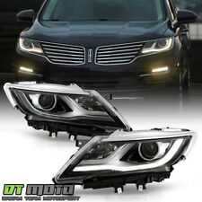 2015-2019 Lincoln MKC HID/Xenon Factory LED DRL Projector Headlights Headlamps