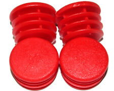 Paquete De 4 X Rojo insertar tapas para tubo de chasis 30 mm Kart UK Kart Store
