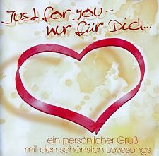 JUST FOR YOU - NUR FÜR DICH, GINO MARINELLO ORCHESTRA - STARLIGHT ORCHESTRA / CD