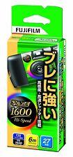 FUJIFILM Fujicolor QuickSnap 1600 hi-speed Disposable Single Use 27 photo JAPAN
