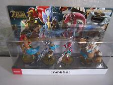 Pack amiibo Nintendo Zelda Breath of the Wild Urbosa Revali Mipha Daruk