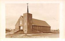 Mobridge South Dakota~Zion Lutheran Church~1950s Postcard RPPC
