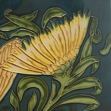 Sun Sunflower Flower Decorative Ceramic Wall Art Tile 8x8