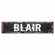 SLND0380 BLAIR CAVE Street Chic Sign Home man cave Decor Gift