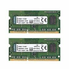 16GB 2x 8GB DDR3L-1600MHz Laptop Memory PC3L-12800 Notebook SO-DIM For Kingston