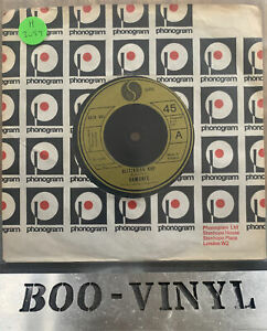 "Ramones - Blitzkrieg Bop 1976 UK 45 SIRE PUNK/KBD EX / VG+ Rare 7"" Record"