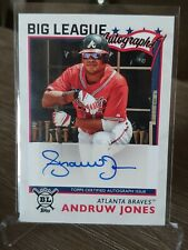 ANDRUW JONES 2020 Topps Big League AUTO ATLANTA BRAVES NRMT