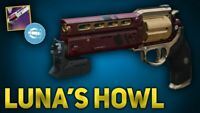 Destiny 2 LUNA'S HOWL FULL QUEST GUARANTEED -WEAPON  COMPLETION  PS4