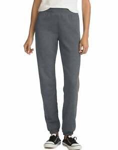 Hanes Women's Mid Rise Cinch Leg Sweatpants Bottom ComfortSoft EcoSmart Fleece