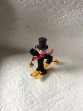 OLD GERMAN COTTON & CHENILLE CHIMNEY SWEEP CHRISTMAS ORNAMENT
