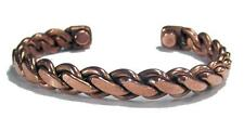 HEAVY 38GR PURE COPPER MAGNETIC BRACELET mens womens #626 health magnets energy