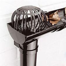 2 x Gutter Leaf Debris Trap Guard Drain Pipe Cover Downpipe Rainwater Protection