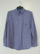 CHAPS Easy Care Men's 1823 Casual Button-Up Long Sleeve Shirt Stripe Sz M