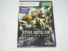 Steel Battalion: Heavy Armor Xbox 360 Kinect   ***NEW FACTORY SEALED***