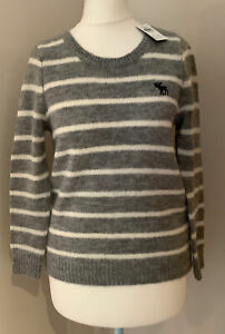 Abercrombie & Fitch Grey Ladies Jumper Size S