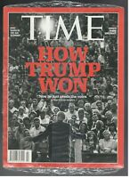 New Sealed TIME Magazine march 14, 2016 Donald Trump now he just needs the votes