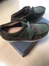 Supreme X Clarks Originals Goretex Wallabee GTX Green Camouflage Size 9 NEW F/S
