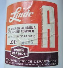 rle LINDE A POLISH POWDER GENUINE OLD STOCK 1 OZ.