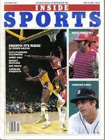 1980 Inside Sports Baseball magazine,Johnny Bench,Cincinnati Reds, Mark Fidrych