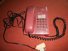 TELEPHONE  AMARYS 100  DE COULEUR ROUGE ORANGE  1995