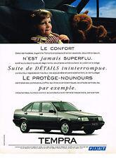 PUBLICITE  ADVERTISING  1991   FIAT  TEMPRA