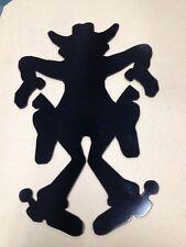 Metal Steel Art Crazy Cowboy Cartoon Character CLEARANCE Customizable Home Work