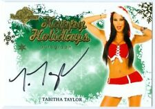 "TABITHA TAYLOR ""HAPPY HOLIDAYS AUTOGRAPH"" BENCHWARMER HOLIDAY 2013"
