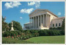 The Supreme Court of the United States, Washington DC, Flower Garden -- Postcard