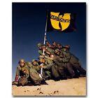 The Wu-Tang Clan - RZA Hip Hop Group Music Silk Poster 13x16 32x40 inch J408