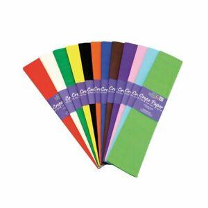 3m Crepe Paper Craft Paper For Children School Craft Creative Work 25cm x 3m