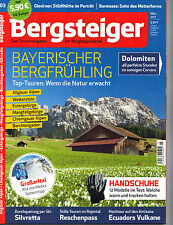 Bergsteiger Bayerischer Bergfrühling 3/2017!Top Zustand!Ungelesen!!