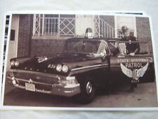 1958 FORD OHIO POLICE CAR  11 X 17  PHOTO /  PICTURE