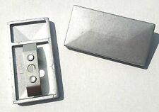 Pfostenkappe Abdeckkappe KU schwarz mit Überstand Doppelstabmattenzaun 20x